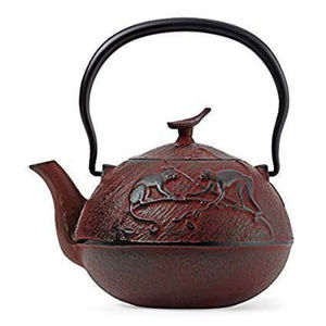 2009 Teavana Year Of The Monkey Teapot Rare Red